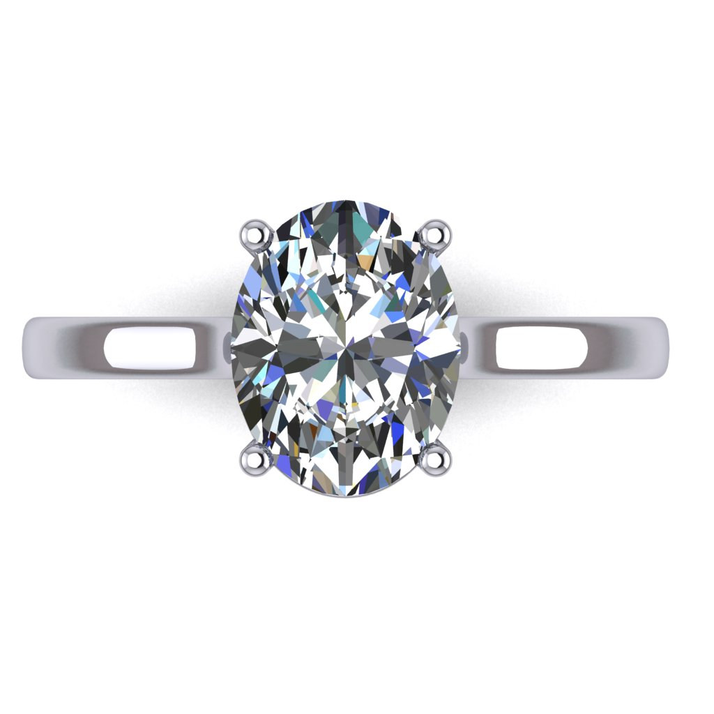 RL0340_1.0ct_Oval Solitaire White A