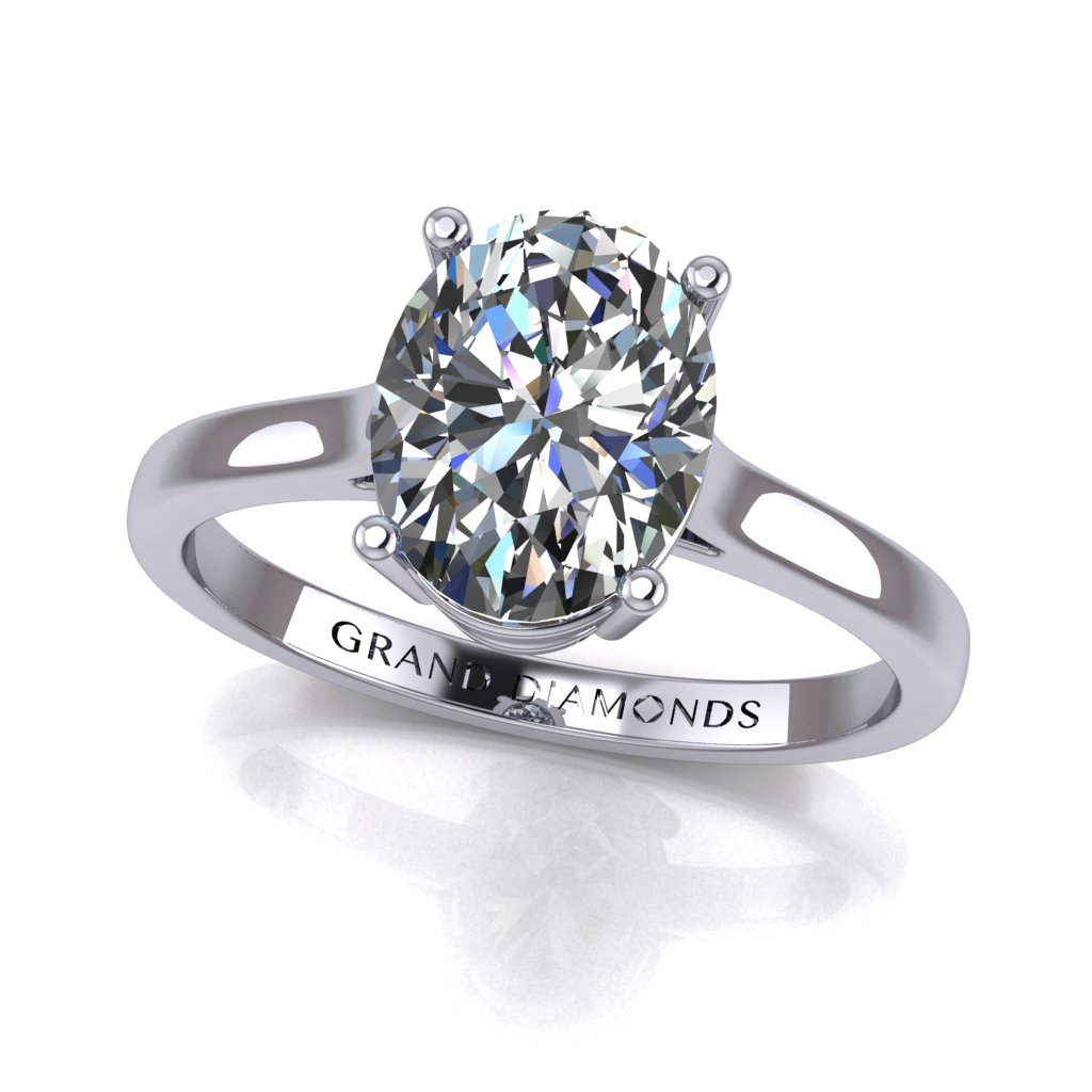 RL0340_1.0ct_Oval Solitaire White D