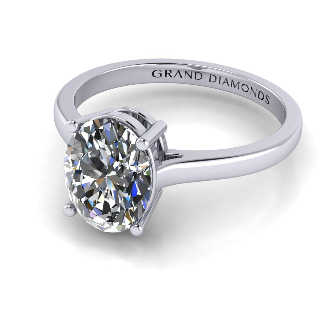 RL0340_1.0ct_Oval Solitaire White
