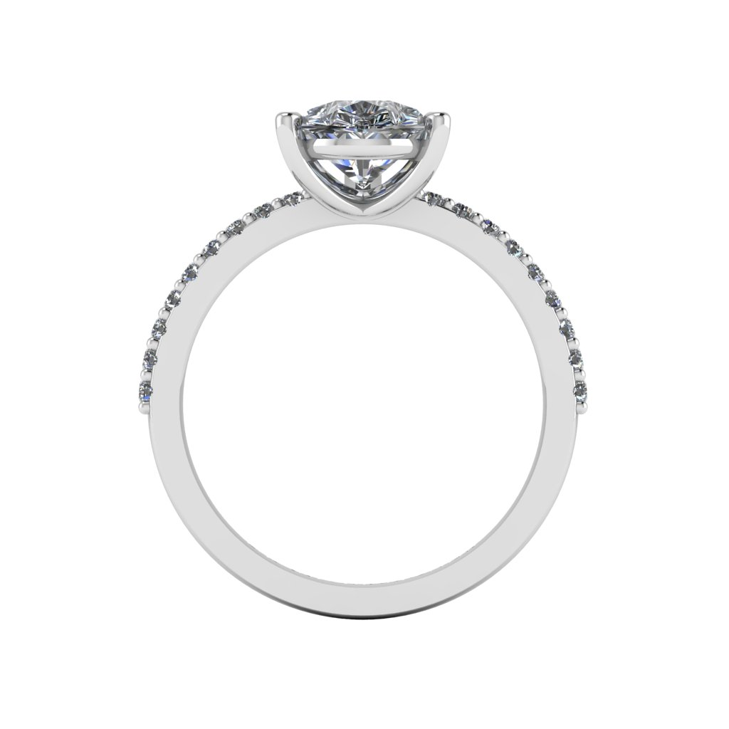 RL0587 2ct Grace Design Pear shape Size M White (2)