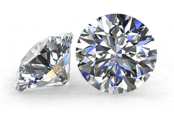 Round Cut Loose Diamond