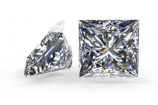 Princess Cut Diamond by Grand Diamonds