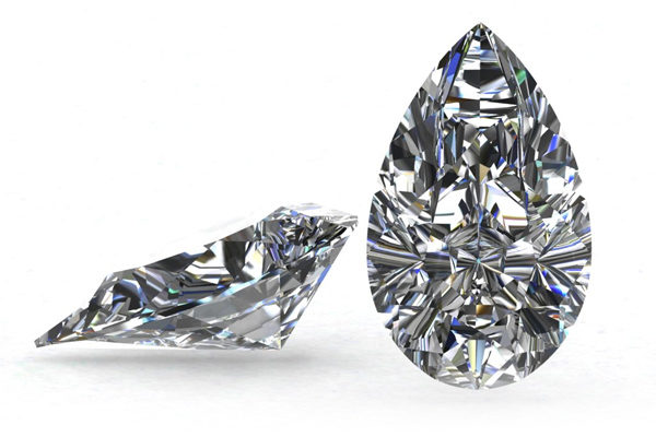 Pear Cut Diamond by Grand Diamonds