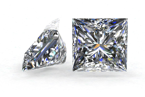 2,01ct I SI1 Princess Cut Diamond