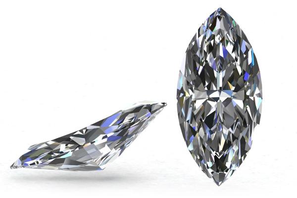 3,43ct D IF Marquise Cut Diamond