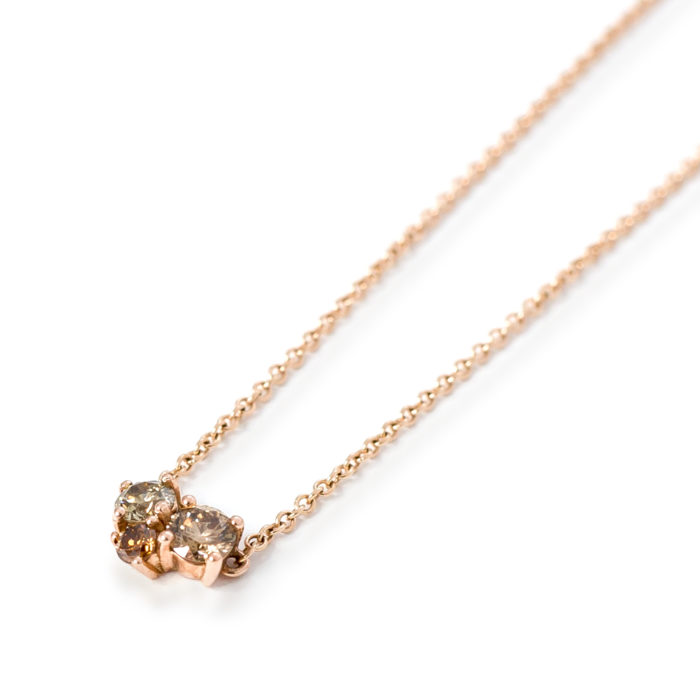 Rose Gold Diamond Pendant Grand Diamonds Cape Town