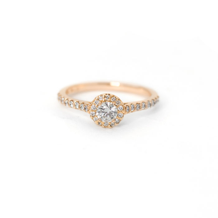 Rose Gold Diamond Ring Grand Diamonds Cape Town