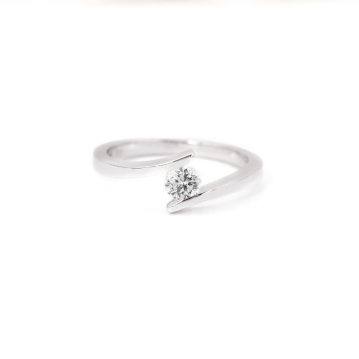 Tension Set Diamond Ring Grand Diamonds Cape Town