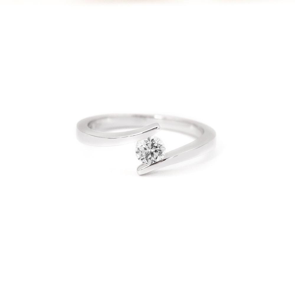 Tension Set Diamond Ring Grand Diamonds Cape Town