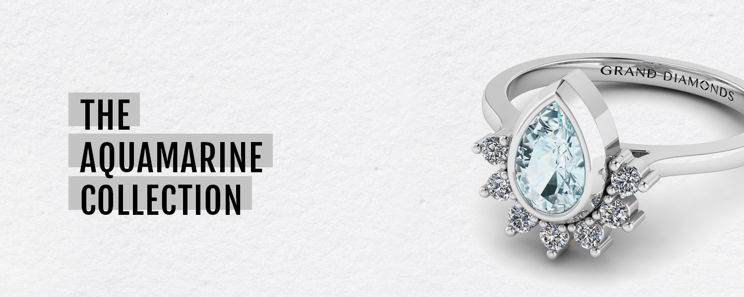 Aquamarine Engagement Rings & Jewellery Grand Diamonds