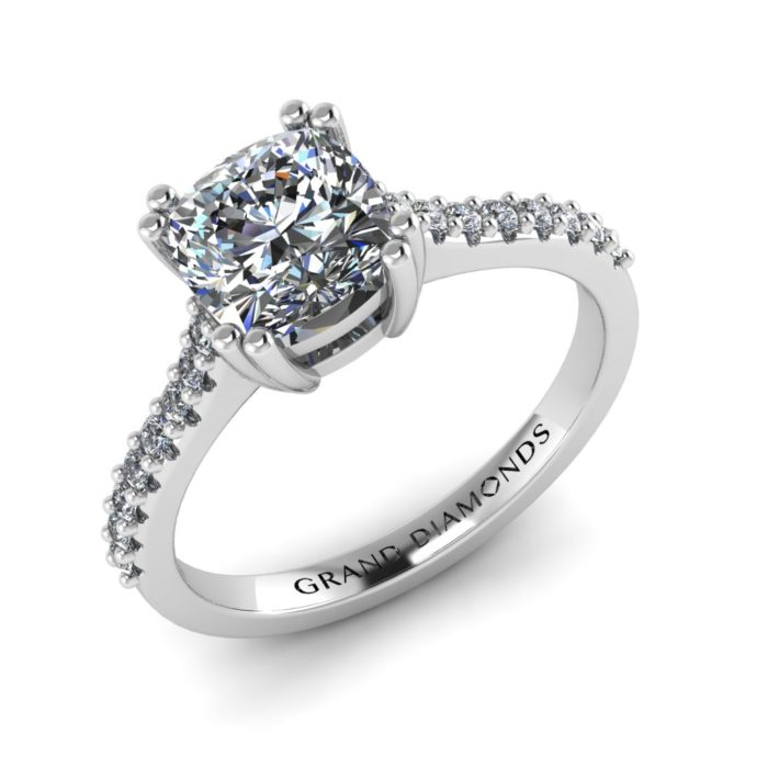 Cushion Cut Ring by Grand Diamonds